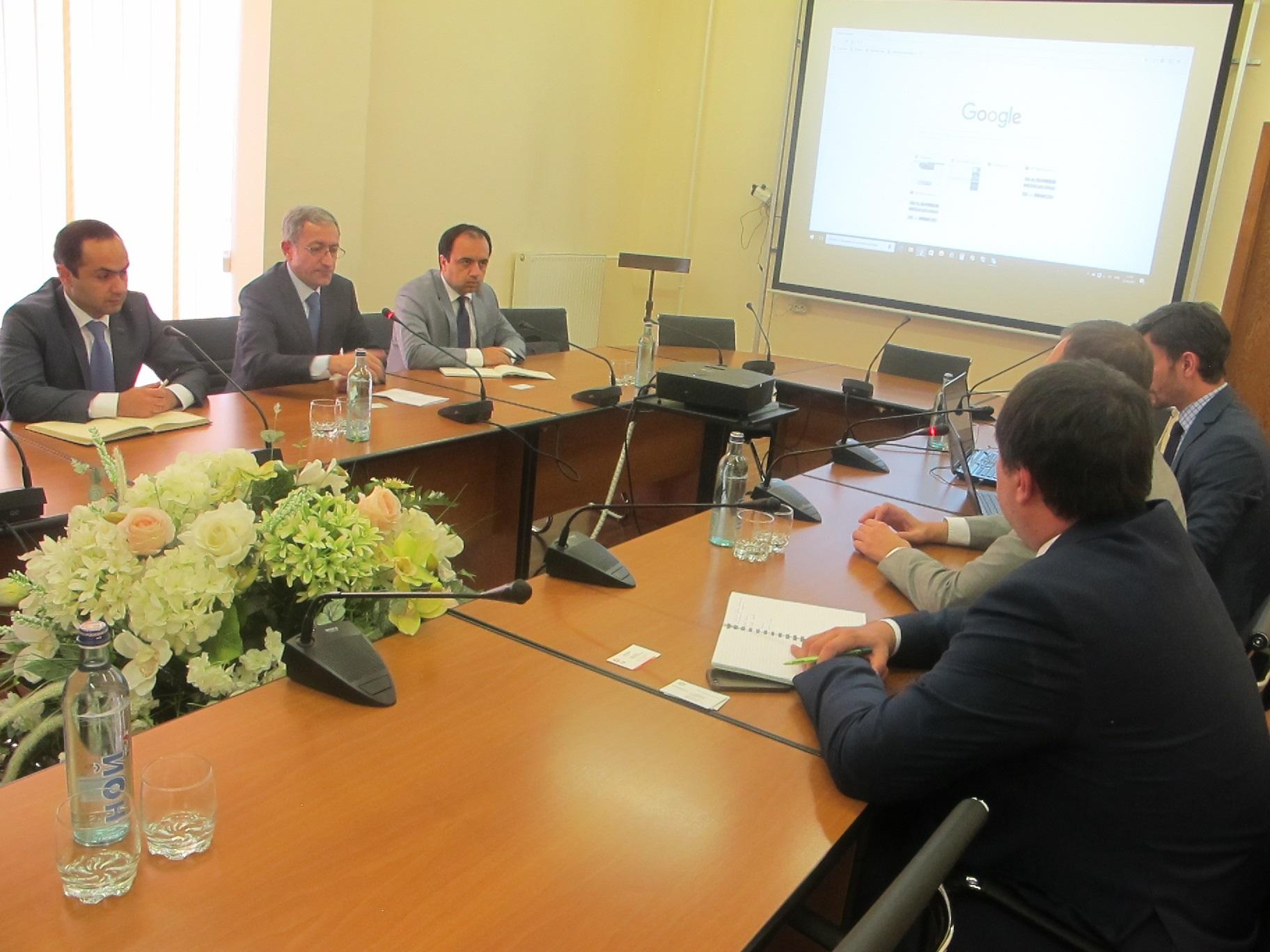 Компания General Electric заинтересована в строительстве станции для производства электроэнергии в Раздане