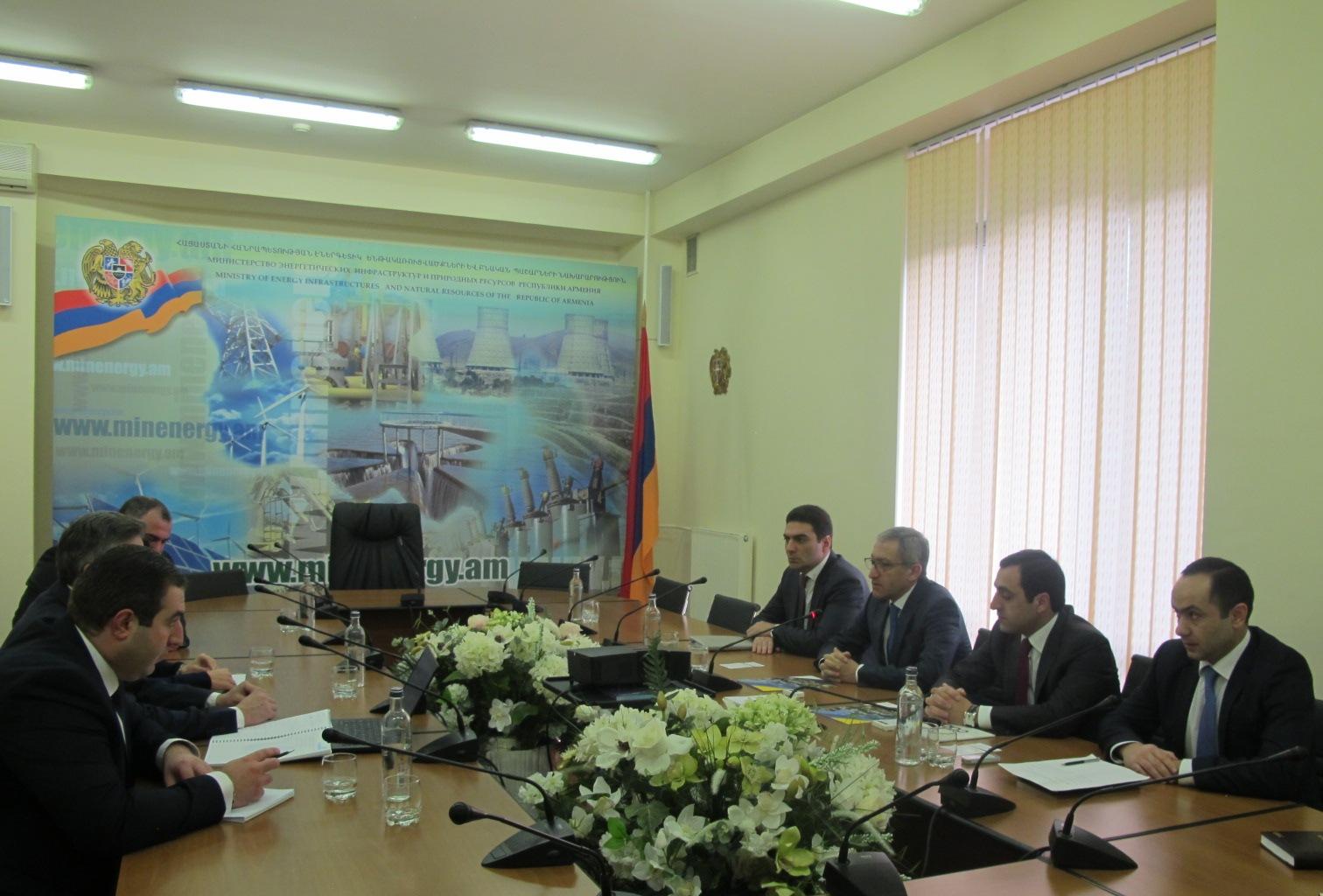 Испанская компания Cobra Energia заинтересована в участии строительства ГЭС «Мегри»